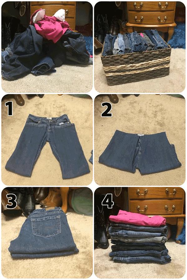 """7 mẹo gấp quần áo nhanh """"thần sầu"""" cho tủ đồ luôn gọn gàng - Nhà Đẹp Số (1)"""
