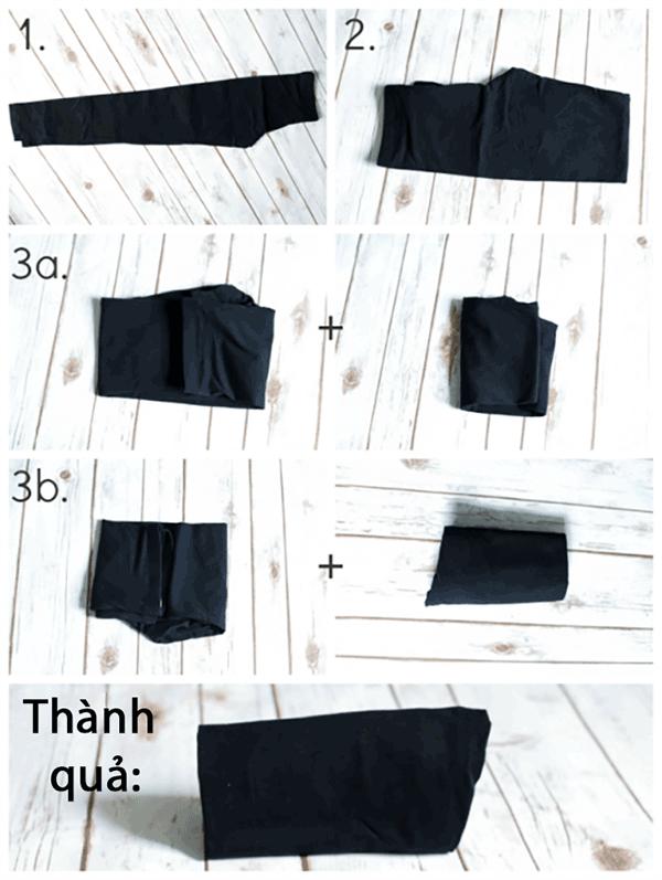 """7 mẹo gấp quần áo nhanh """"thần sầu"""" cho tủ đồ luôn gọn gàng - Nhà Đẹp Số (4)"""