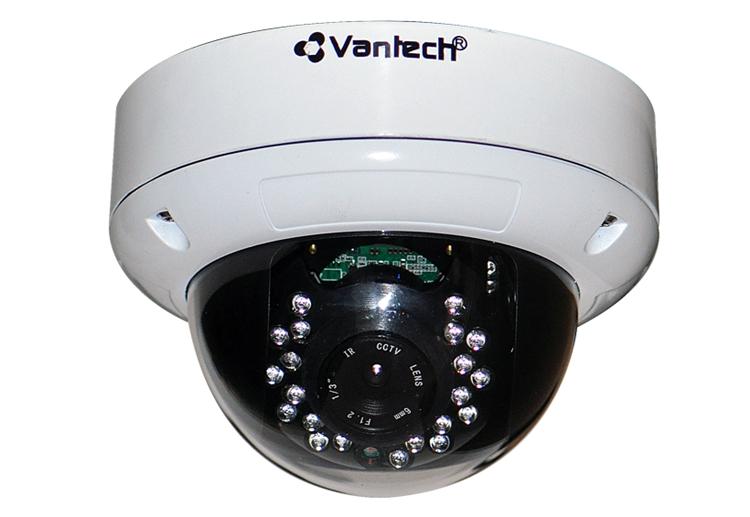 Kiểu dáng thanh lịch của camera dome thu hút người dùng