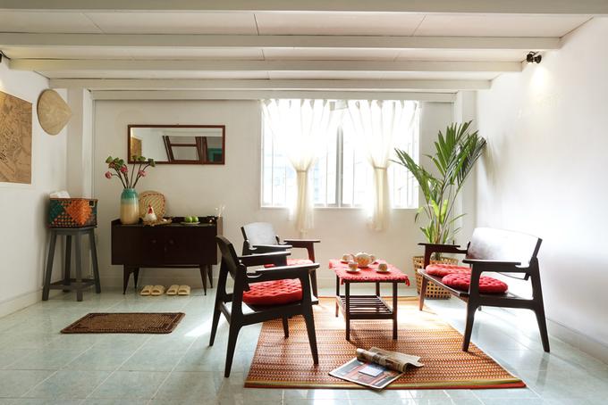 Cải tạo căn hộ 27 m2 trong khu nhà tập thể quận 1 với 120 triệu - Nhà Đẹp Số (4)