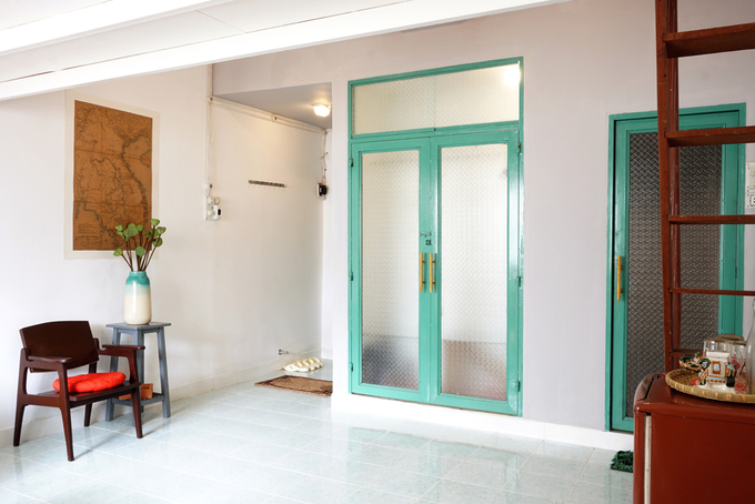 Cải tạo căn hộ 27 m2 trong khu nhà tập thể quận 1 với 120 triệu - Nhà Đẹp Số (6)