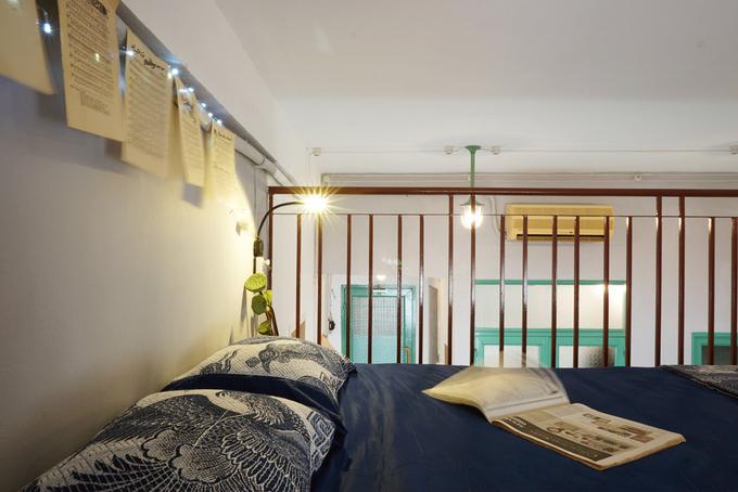 Cải tạo căn hộ 27 m2 trong khu nhà tập thể quận 1 với 120 triệu - Nhà Đẹp Số (8)
