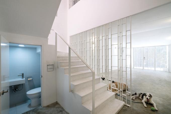 Cải tạo nhà ống 4 tầng tăm tối ở quận Bình Thạnh thành nơi ở thoáng sáng - Nhà Đẹp Số (5)