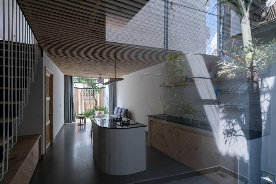 Công trình nhà phố 2 tầng ở quận 9 với điểm nhấn gỗ mộc - Nhà Đẹp Số (12)