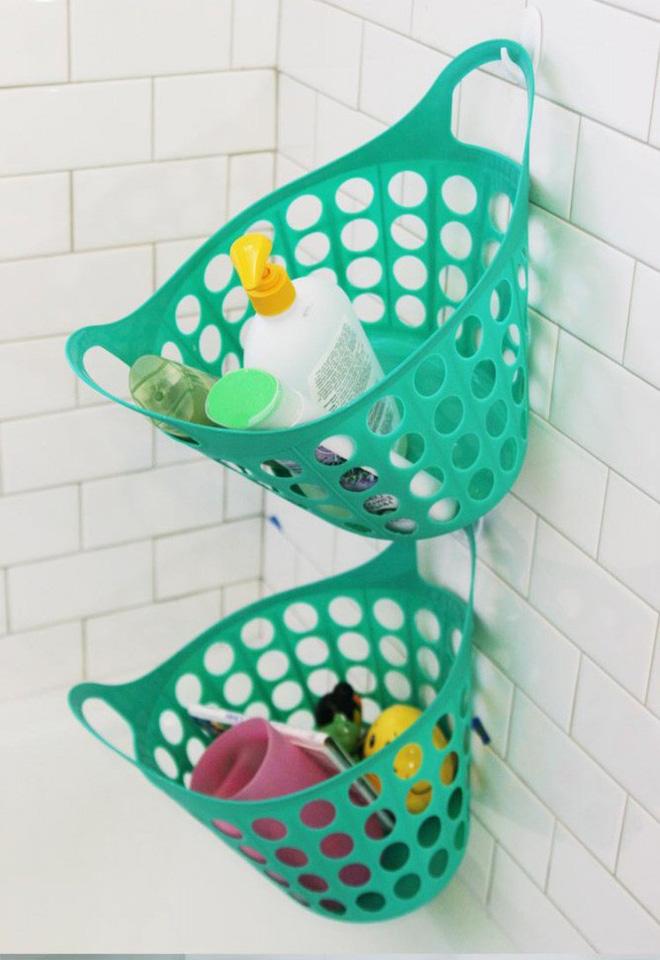 Để không gian phòng tắm gọn gàng bạn cần ngay 9 bí kíp sắp xếp đồ tiện ích này - Nhà Đẹp Số (2)