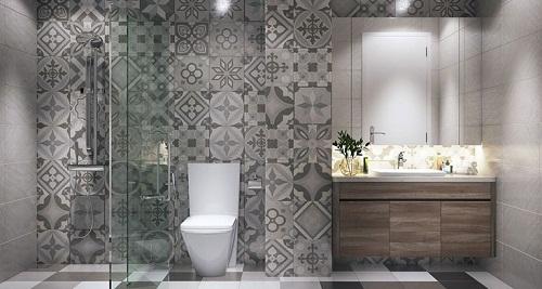 Gạch bông trang trí phòng tắm và những điều cần lưu ý - Nhà Đẹp Số (3)