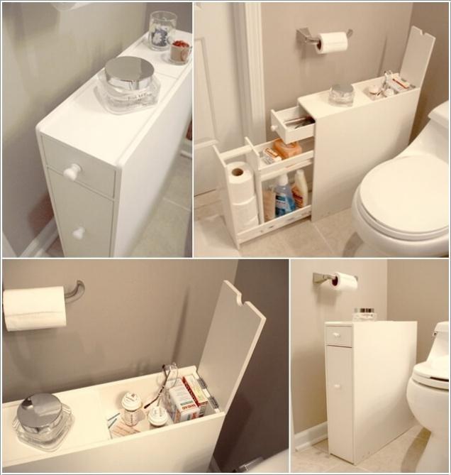 Giải pháp lưu trữ đồ thông minh cho các không gian phòng tắm chật - Nhà Đẹp Số (1)