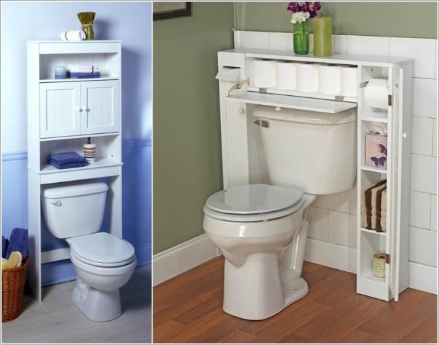 Giải pháp lưu trữ đồ thông minh cho các không gian phòng tắm chật - Nhà Đẹp Số (2)