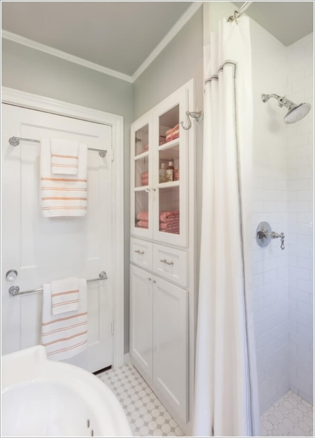 Giải pháp lưu trữ đồ thông minh cho các không gian phòng tắm chật - Nhà Đẹp Số (3)