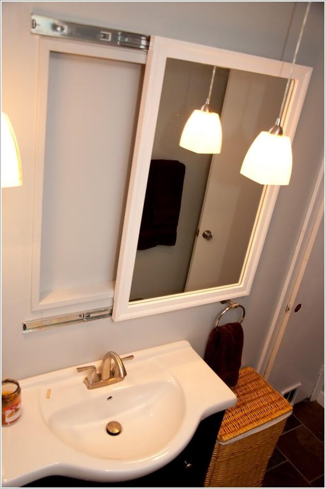 Giải pháp lưu trữ đồ thông minh cho các không gian phòng tắm chật - Nhà Đẹp Số (5)