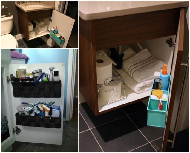 Giải pháp lưu trữ đồ thông minh cho các không gian phòng tắm chật - Nhà Đẹp Số (6)