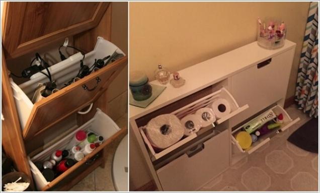 Giải pháp lưu trữ đồ thông minh cho các không gian phòng tắm chật - Nhà Đẹp Số (8)
