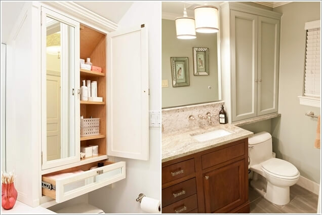 Giải pháp lưu trữ đồ thông minh cho các không gian phòng tắm chật - Nhà Đẹp Số (9)