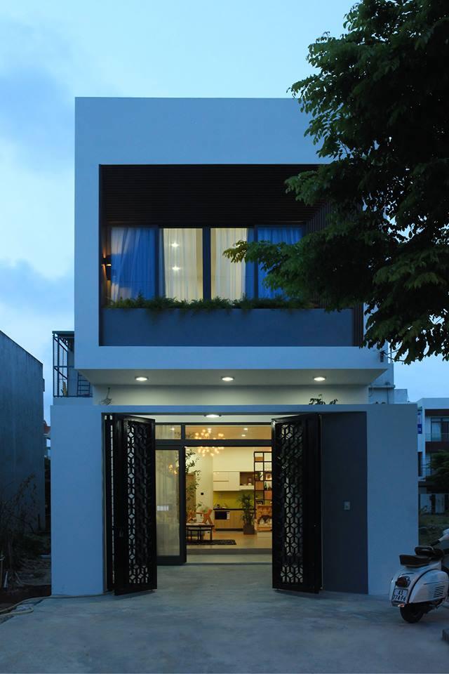 Ngắm nghía ngôi nhà phố 2 tầng đẹp ở Đà Nẵng với chi phí hoàn thiện 750 triệu đồng - Nhà Đẹp Số (2)