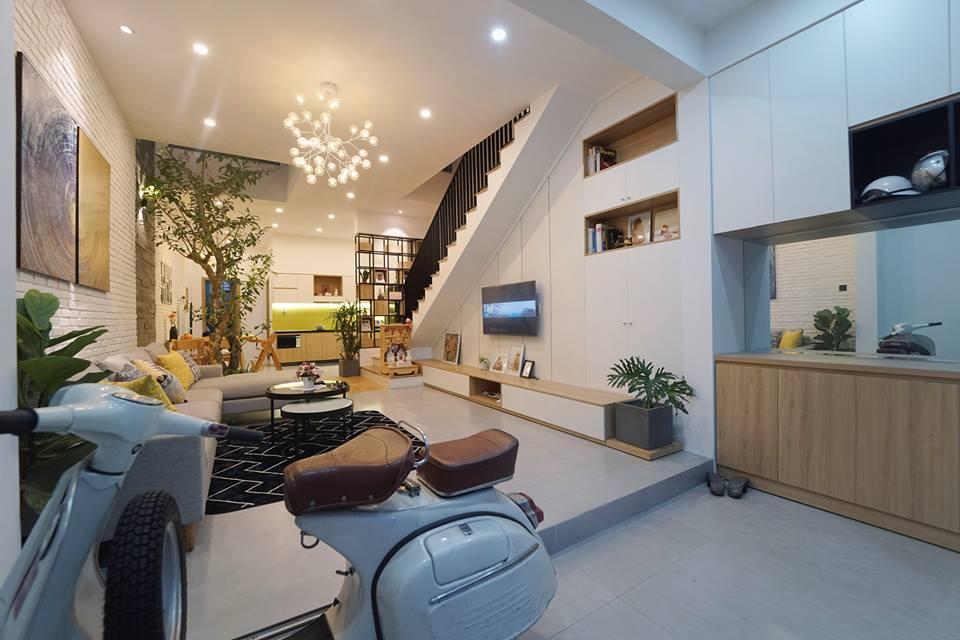 Ngắm nghía ngôi nhà phố 2 tầng đẹp ở Đà Nẵng với chi phí hoàn thiện 750 triệu đồng - Nhà Đẹp Số (3)