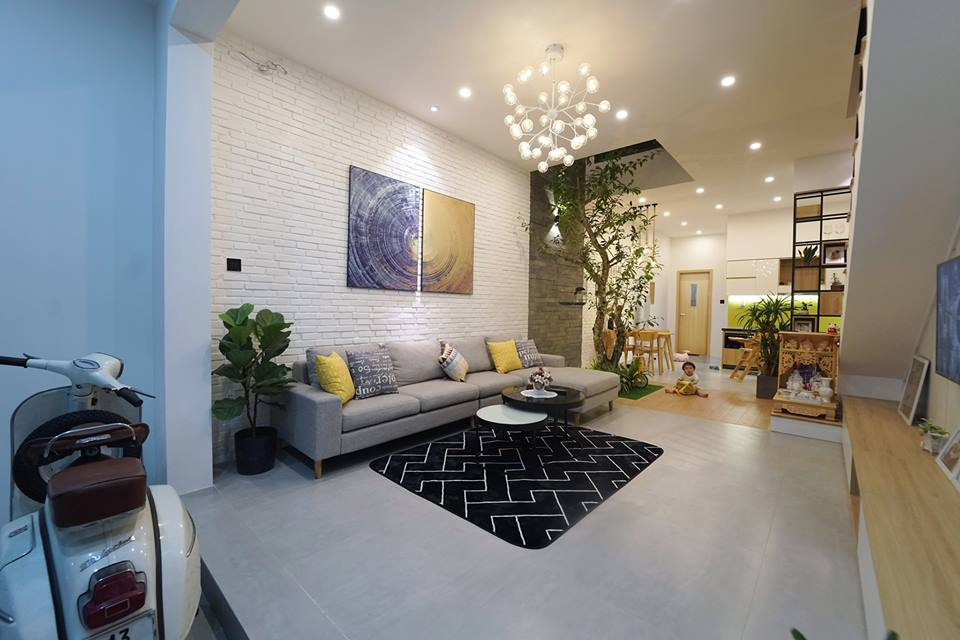 Ngắm nghía ngôi nhà phố 2 tầng đẹp ở Đà Nẵng với chi phí hoàn thiện 750 triệu đồng - Nhà Đẹp Số (4)