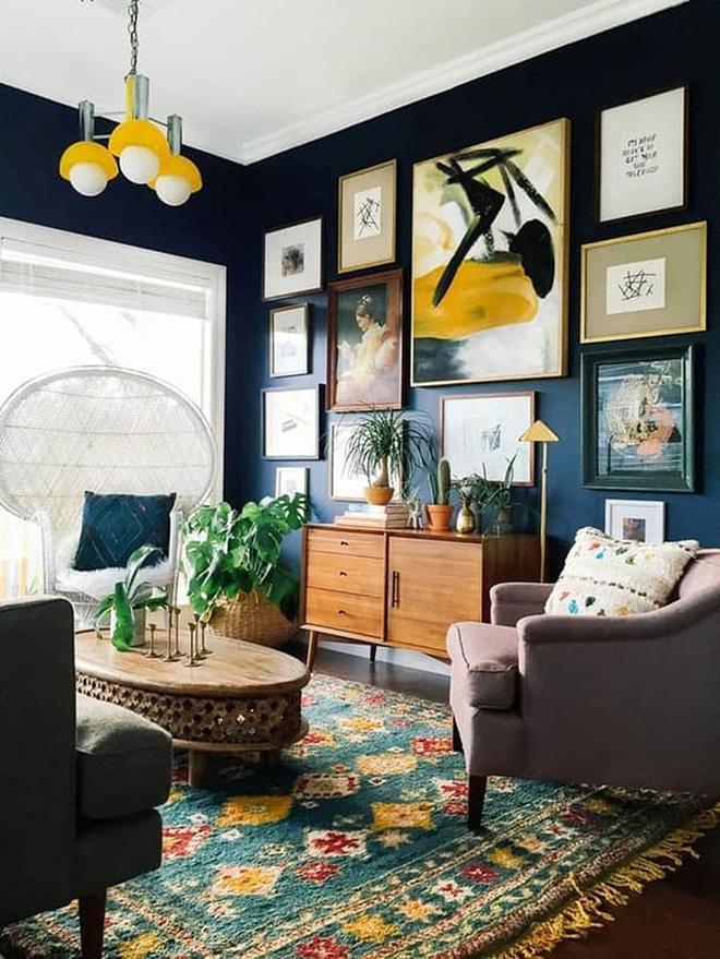 Những mẫu phòng khách mang phong cách Bohemian đẹp mê mẩn - Nhà Đẹp Số (14)