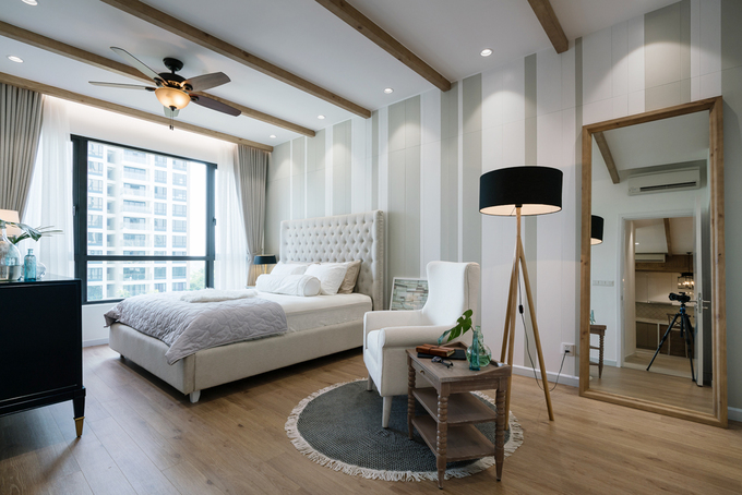 Phong cách đồng quê Mỹ trong căn hộ 2 phòng ngủ ở Sài Gòn - Nhà Đẹp Số (9)