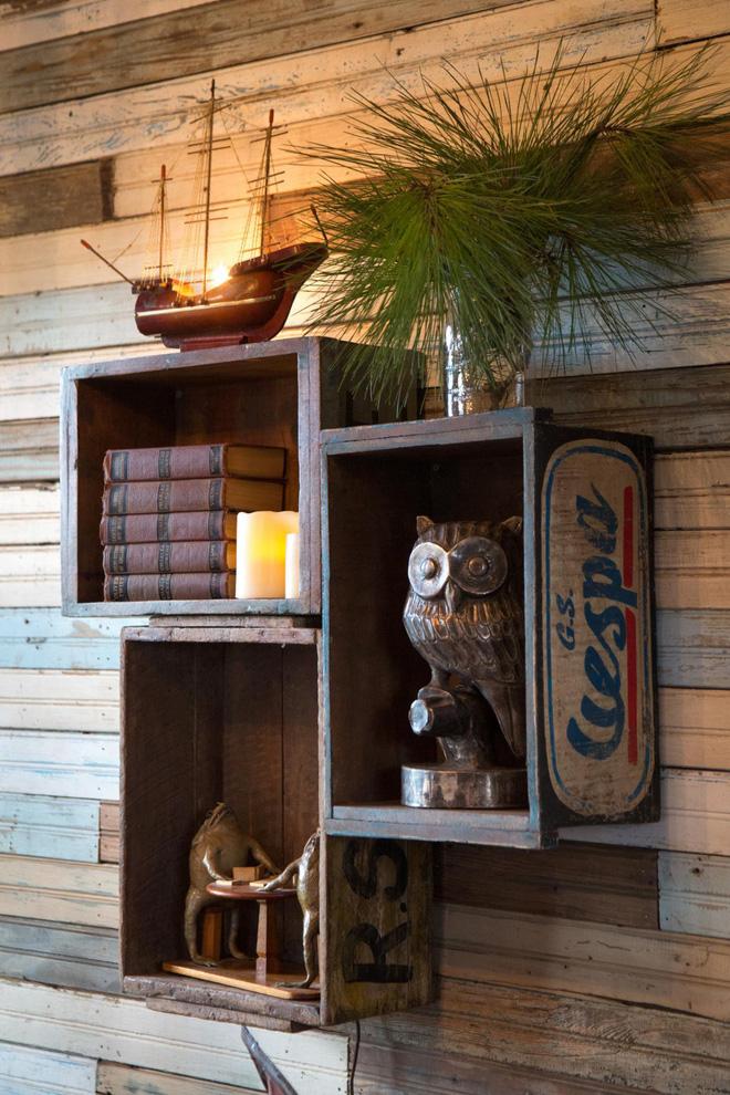 Tiết kiệm tiền trang trí nhà bằng đồ nội thất tái chế từ thùng cũ - Nhà Đẹp Số (10)