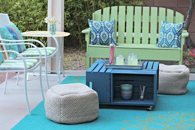 Tiết kiệm tiền trang trí nhà bằng đồ nội thất tái chế từ thùng cũ - Nhà Đẹp Số (7)