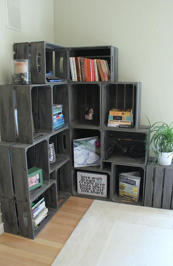 Tiết kiệm tiền trang trí nhà bằng đồ nội thất tái chế từ thùng cũ - Nhà Đẹp Số (9)