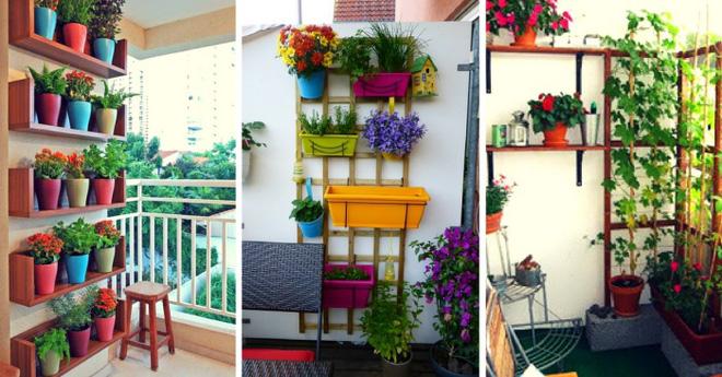 Trang trí ban công bằng hoa tươi - ý tưởng chưa bao giờ lỗi mốt - Nhà Đẹp Số (1)