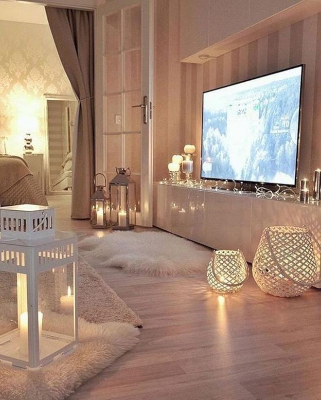 Trang trí phòng khách với đèn dây cần chú ý những gì? - Nhà Đẹp Số (12)