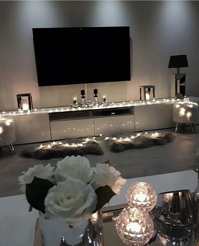 Trang trí phòng khách với đèn dây cần chú ý những gì? - Nhà Đẹp Số (13)