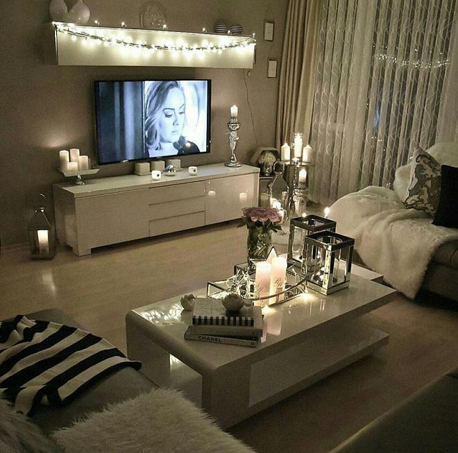 Trang trí phòng khách với đèn dây cần chú ý những gì? - Nhà Đẹp Số (14)