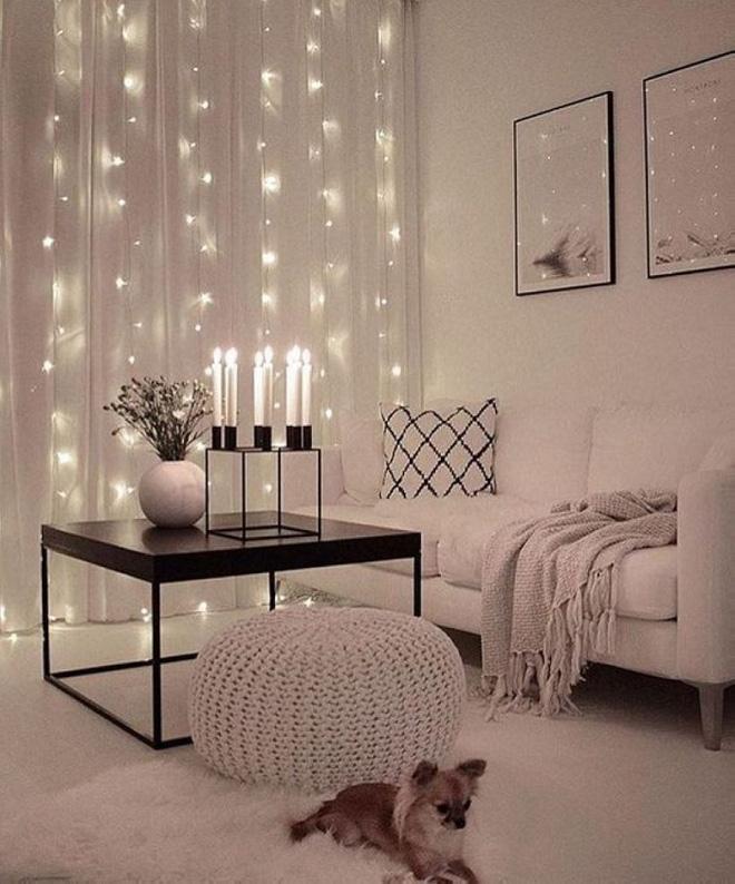 Trang trí phòng khách với đèn dây cần chú ý những gì? - Nhà Đẹp Số (6)
