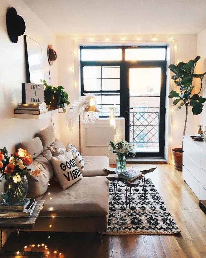 Trang trí phòng khách với đèn dây cần chú ý những gì? - Nhà Đẹp Số (9)