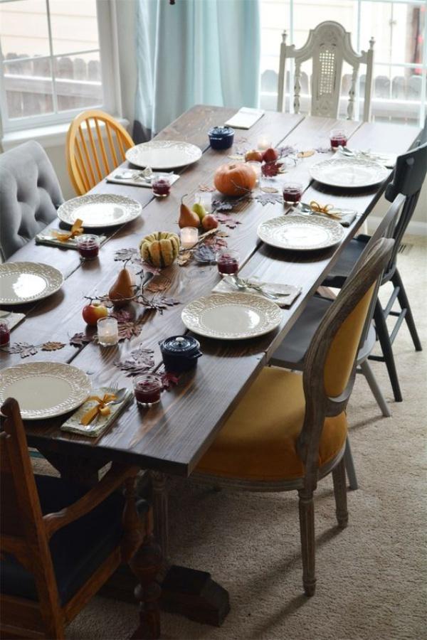 Xu hướng thiết kế phòng ăn mới toanh kết hợp bàn kiểu cũ với ghế hiện đại - Nhà Đẹp Số (10)