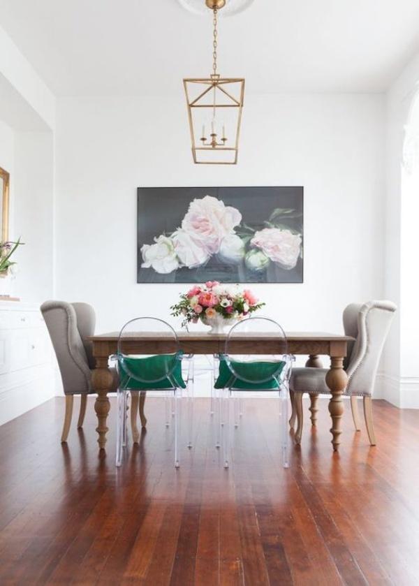 Xu hướng thiết kế phòng ăn mới toanh kết hợp bàn kiểu cũ với ghế hiện đại - Nhà Đẹp Số (7)