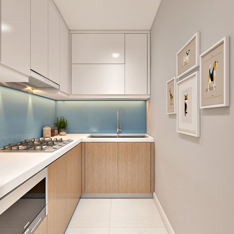 Căn hộ hiện đại 65 m2 với tông trắng chủ đạo - Nhà Đẹp Số (2)