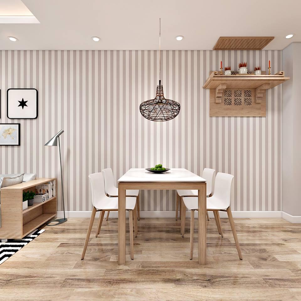 Căn hộ hiện đại 65 m2 với tông trắng chủ đạo - Nhà Đẹp Số (3)