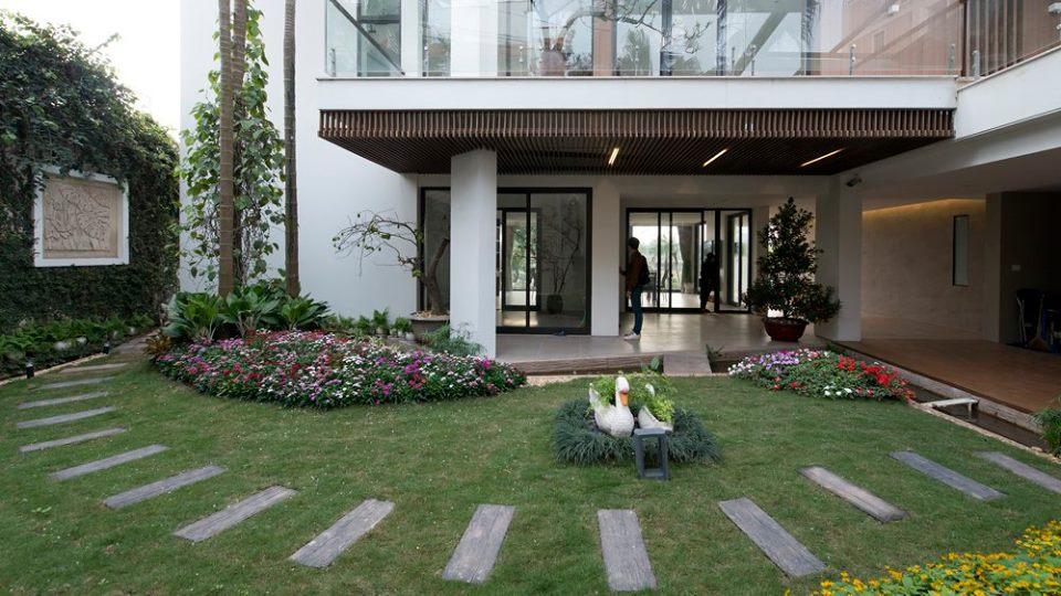 Công trình biệt thự đẹp sang chảnh ở Hà Nội - Nhà Đẹp Số (2)