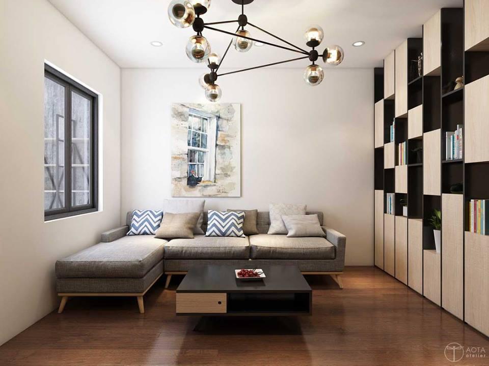 Không gian căn hộ tập thể cũ lột xác sau sửa chữa - Nhà Đẹp Số (1)
