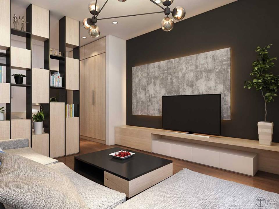 Không gian căn hộ tập thể cũ lột xác sau sửa chữa - Nhà Đẹp Số (4)