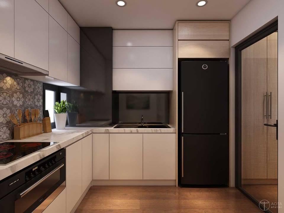 Không gian căn hộ tập thể cũ lột xác sau sửa chữa - Nhà Đẹp Số (6)