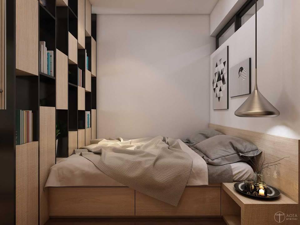 Không gian căn hộ tập thể cũ lột xác sau sửa chữa - Nhà Đẹp Số (7)