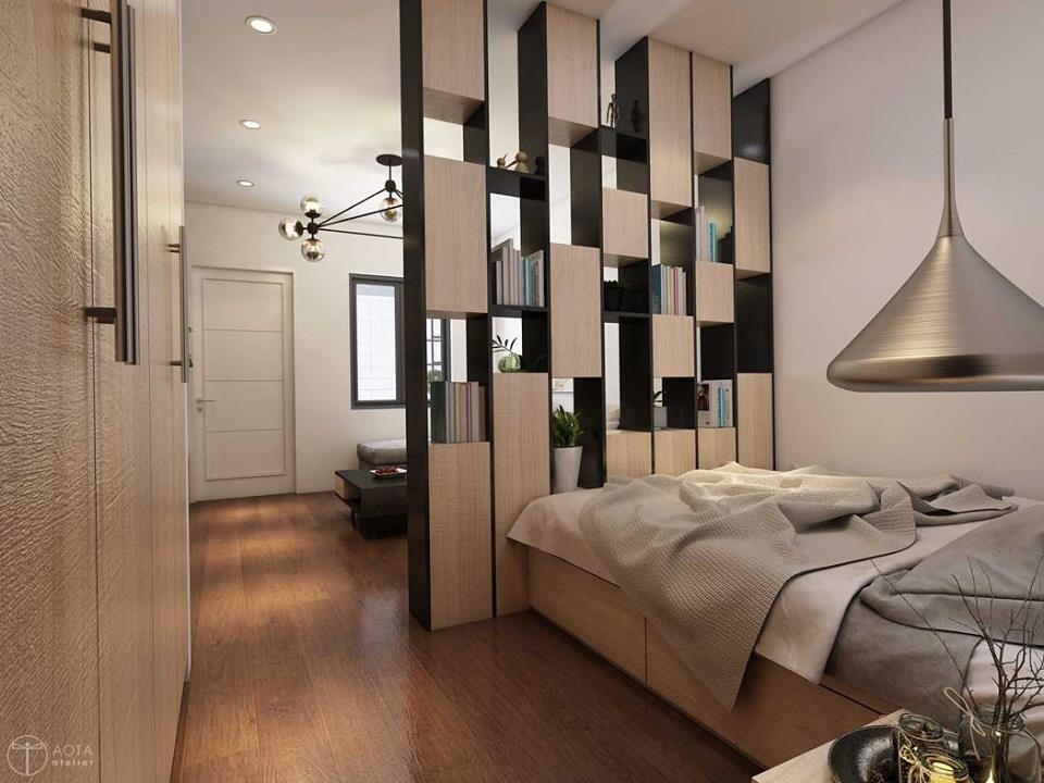 Không gian căn hộ tập thể cũ lột xác sau sửa chữa - Nhà Đẹp Số (8)