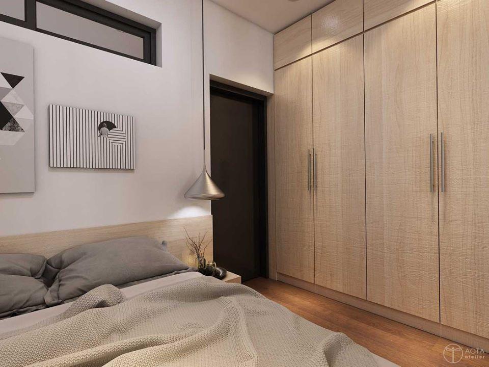 Không gian căn hộ tập thể cũ lột xác sau sửa chữa - Nhà Đẹp Số (9)