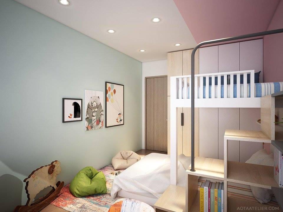 Không gian mở linh hoạt bên trong căn hộ chung cư Capital Garden - Nhà Đẹp Số (12)