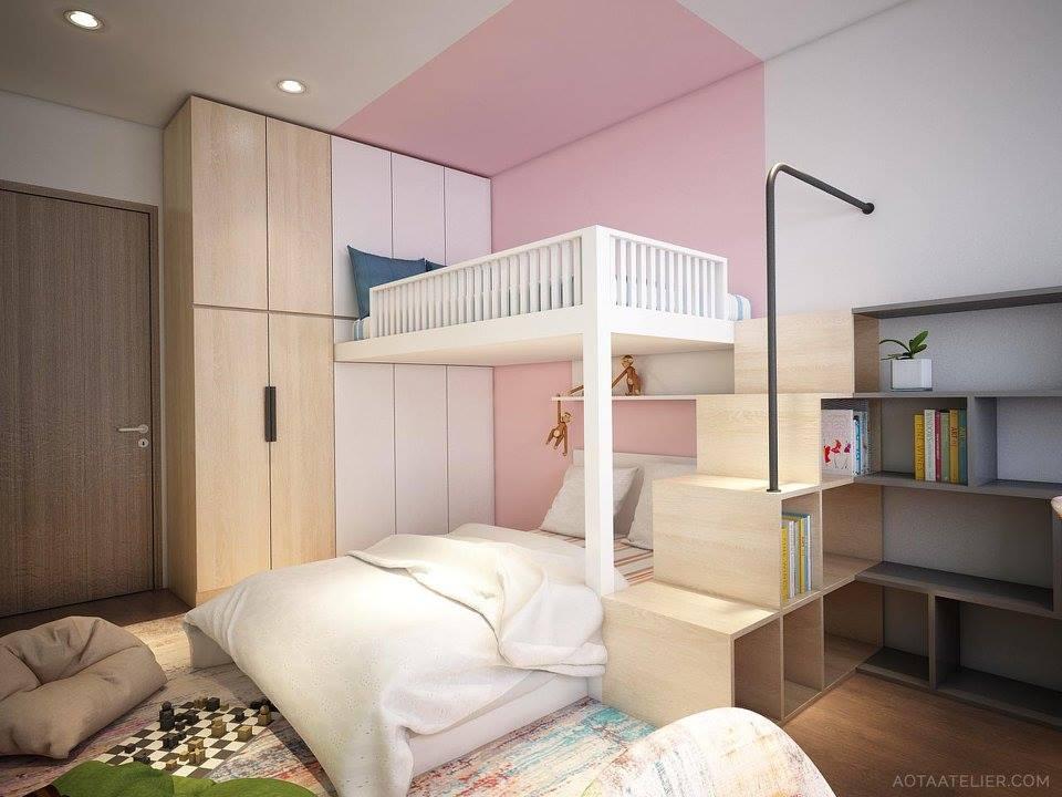 Không gian mở linh hoạt bên trong căn hộ chung cư Capital Garden - Nhà Đẹp Số (14)