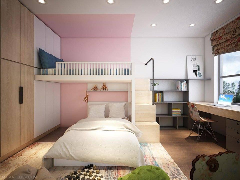 Không gian mở linh hoạt bên trong căn hộ chung cư Capital Garden - Nhà Đẹp Số (15)