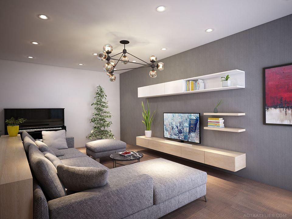 Không gian mở linh hoạt bên trong căn hộ chung cư Capital Garden - Nhà Đẹp Số (2)