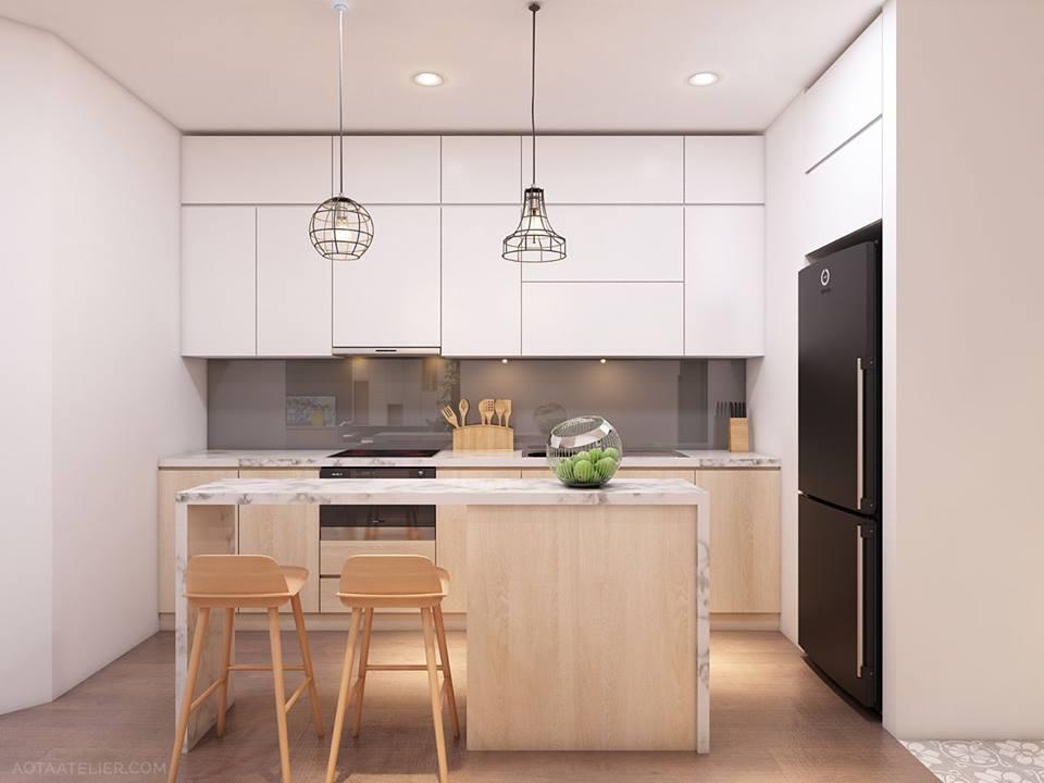 Không gian mở linh hoạt bên trong căn hộ chung cư Capital Garden - Nhà Đẹp Số (3)