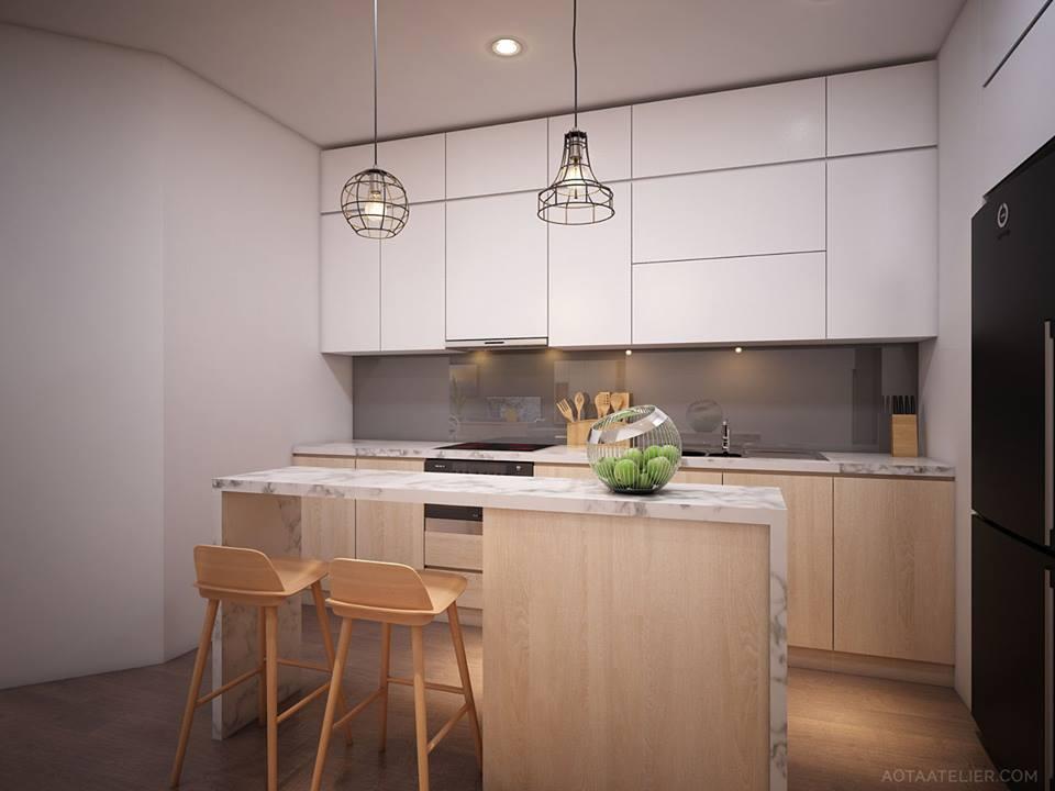 Không gian mở linh hoạt bên trong căn hộ chung cư Capital Garden - Nhà Đẹp Số (4)