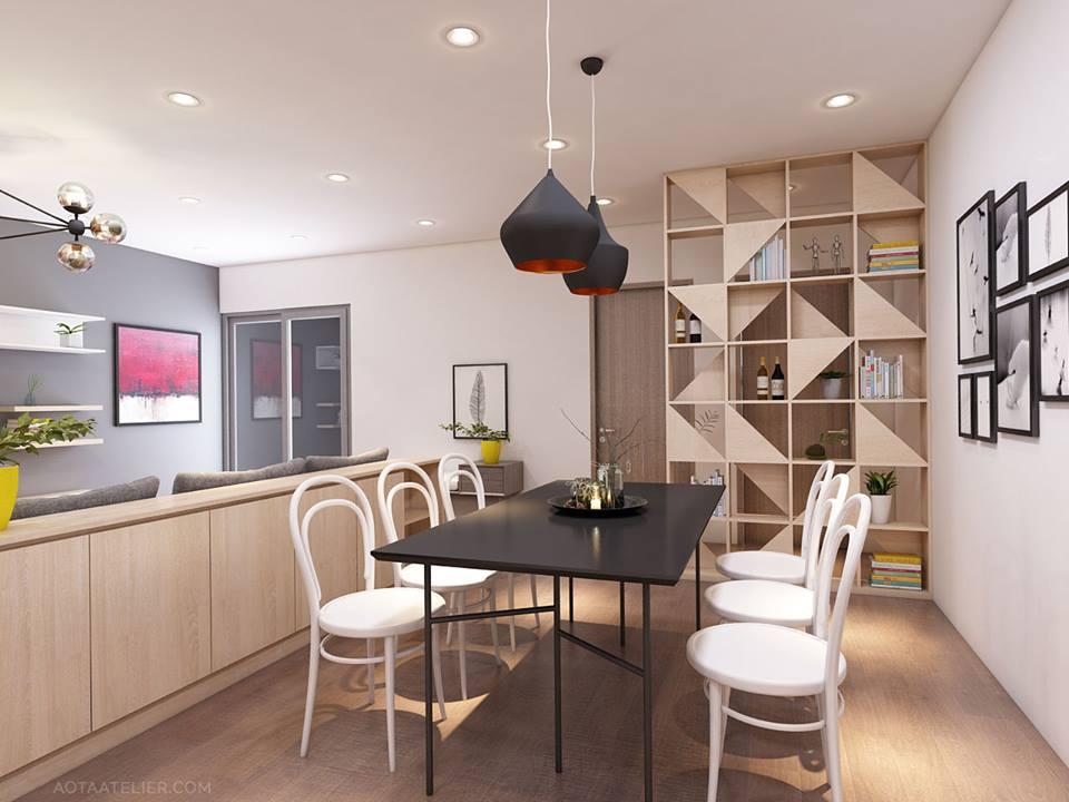 Không gian mở linh hoạt bên trong căn hộ chung cư Capital Garden - Nhà Đẹp Số (5)
