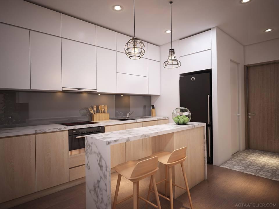Không gian mở linh hoạt bên trong căn hộ chung cư Capital Garden - Nhà Đẹp Số (7)